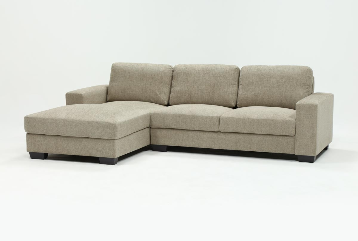 Jobs Oat 2 Piece Sectional With Left Facing Chaise | Living Spaces within Jobs Oat 2 Piece Sectionals With Left Facing Chaise
