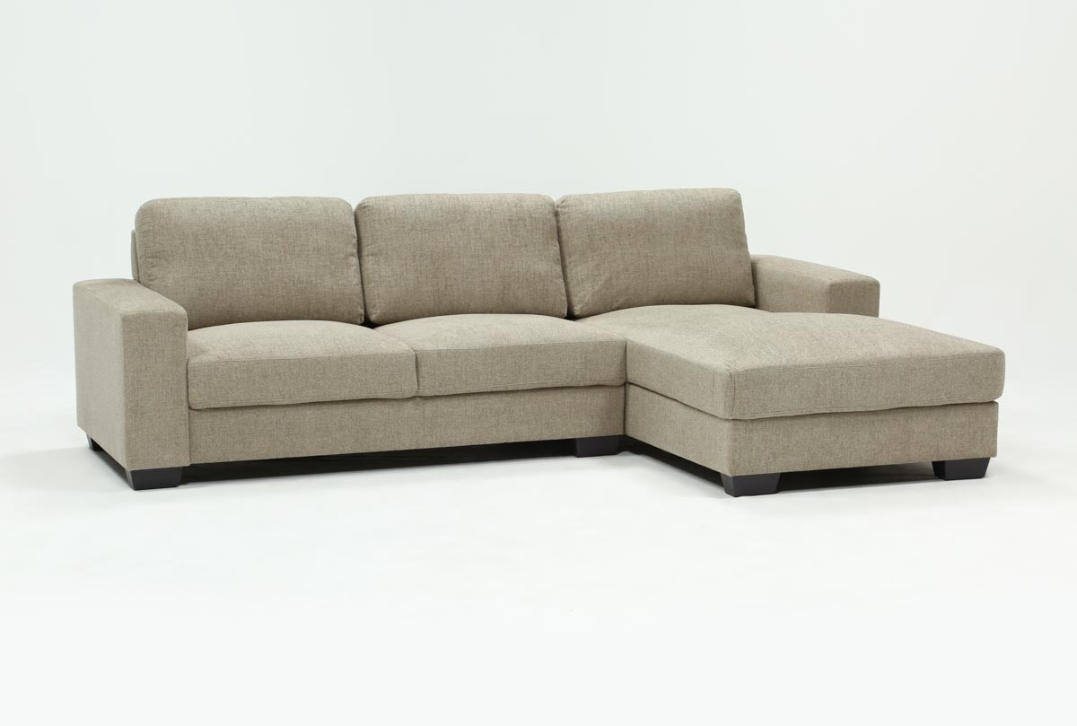 Jobs Oat 2 Piece Sectional With Right Facing Chaise | Living Spaces Pertaining To Jobs Oat 2 Piece Sectionals With Left Facing Chaise (View 3 of 25)