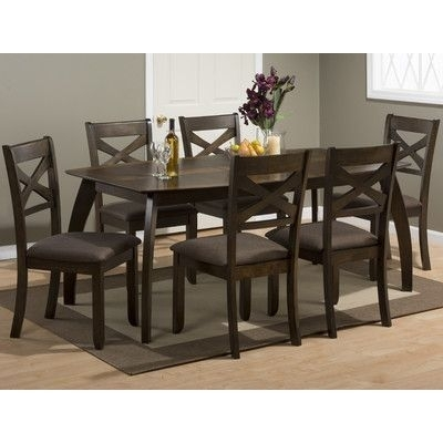 Jofran Camden Dining Table In 2018 | Products | Pinterest | Dining With Laurent 7 Piece Rectangle Dining Sets With Wood Chairs (View 12 of 25)