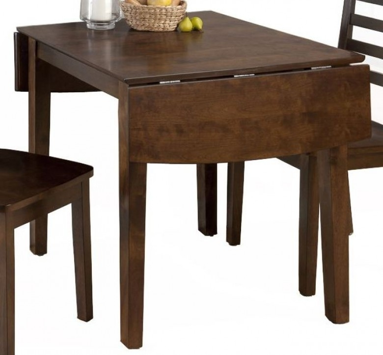 Jofran Taylor Cherry Extendable Drop Leaf Dining Table – Taylor Intended For Drop Leaf Extendable Dining Tables (Image 19 of 25)