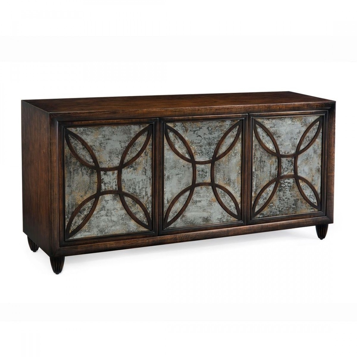 John Richard Monet Three Door Buffet Within Marcus Oyster 6 Piece Sectionals With Power Headrest And Usb (Image 9 of 25)