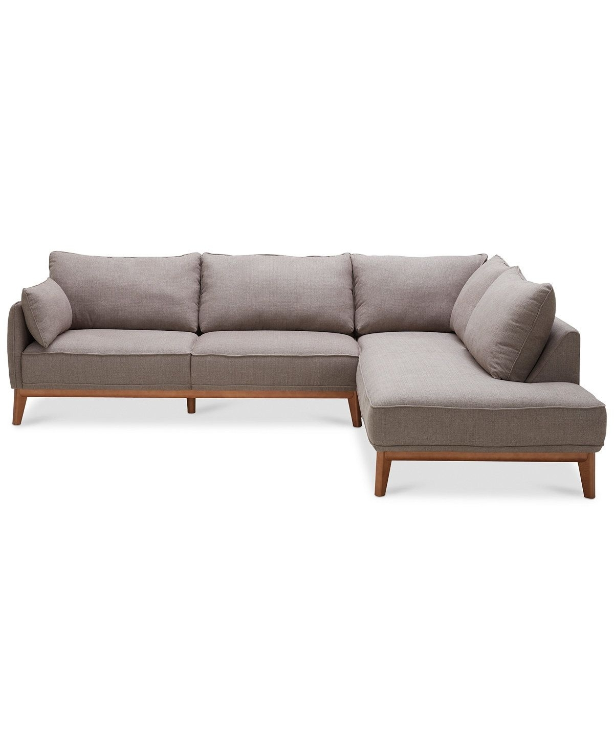 Jollene 113 2 Pc. Sectional, Created For Macy's | Living Room Intended For Turdur 2 Piece Sectionals With Laf Loveseat (Photo 6411 of 7746)