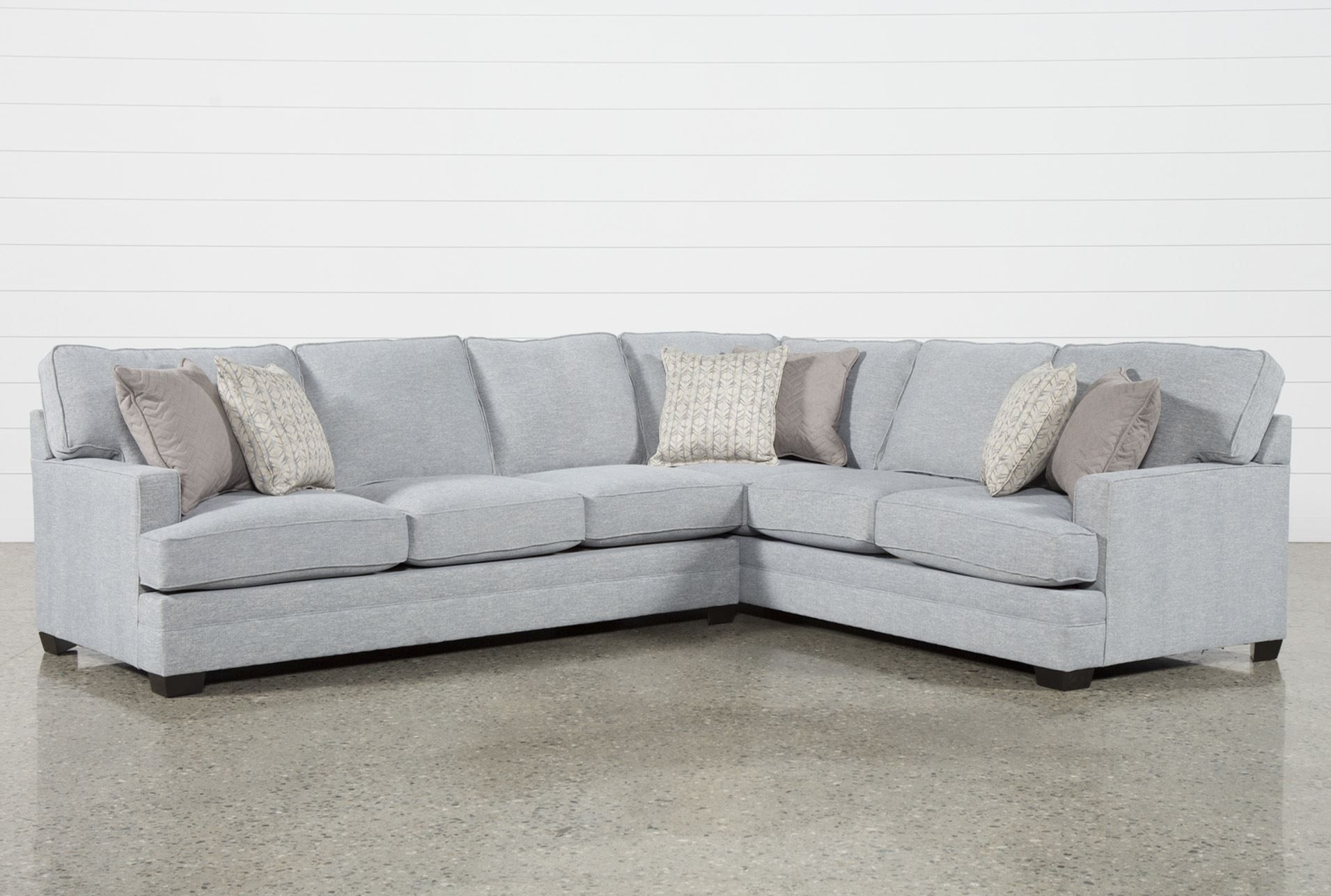Josephine 2 Piece Sectional W/laf Sofa | Decorating And Interiors Regarding Harper Foam 3 Piece Sectionals With Raf Chaise (Photo 3 of 25)