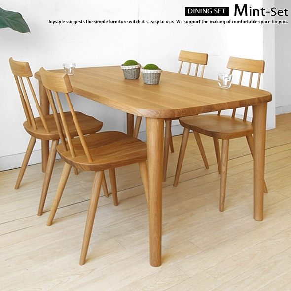 Joystyle Interior: Width 135 Cm From 150 Cm 180 Cm 3 Sizes Orderable For Beech Dining Tables And Chairs (Photo 12 of 25)