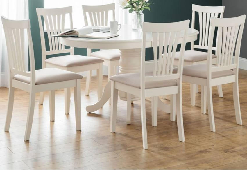 Julian Bowen – Stamford Extending Dining Table Set – Country House With Extending Dining Table Sets (Image 15 of 25)