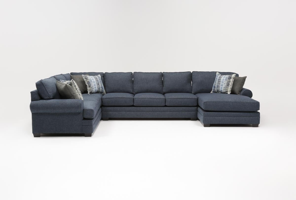 Karen 3 Piece Sectional | Living Spaces regarding Karen 3 Piece Sectionals