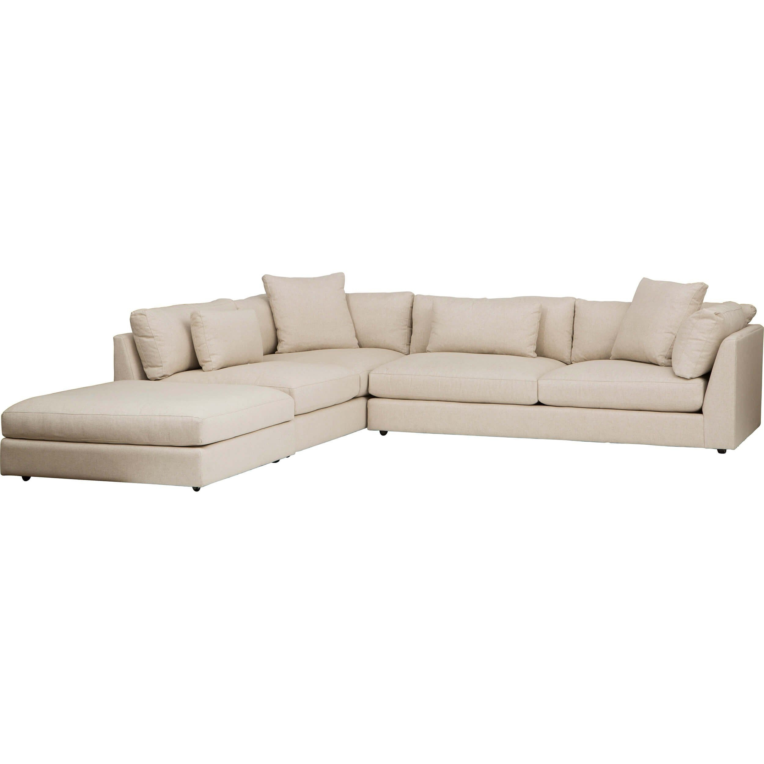 Kellen Sectional, Crevere Cream | Pinterest | Modern, Living Rooms Within Delano Smoke 3 Piece Sectionals (Image 13 of 25)