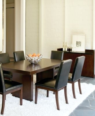 Kelso 9 Pc Dining Set Table 8 Side Chairs – Dining Tables Ideas With Regard To Palazzo 9 Piece Dining Sets With Pearson White Side Chairs (Image 20 of 25)