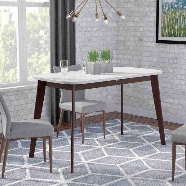 Kennedy Table Butterfly Leaf | Wayfair Intended For Teagan Extension Dining Tables (View 6 of 25)
