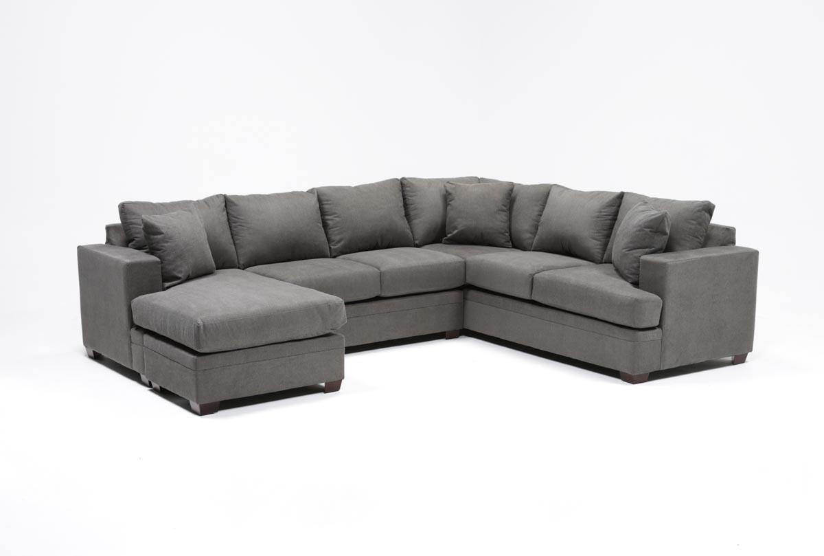 Kerri 2 Piece Sectional W/laf Chaise | Living Spaces In Kerri 2 Piece Sectionals With Laf Chaise (Image 9 of 25)