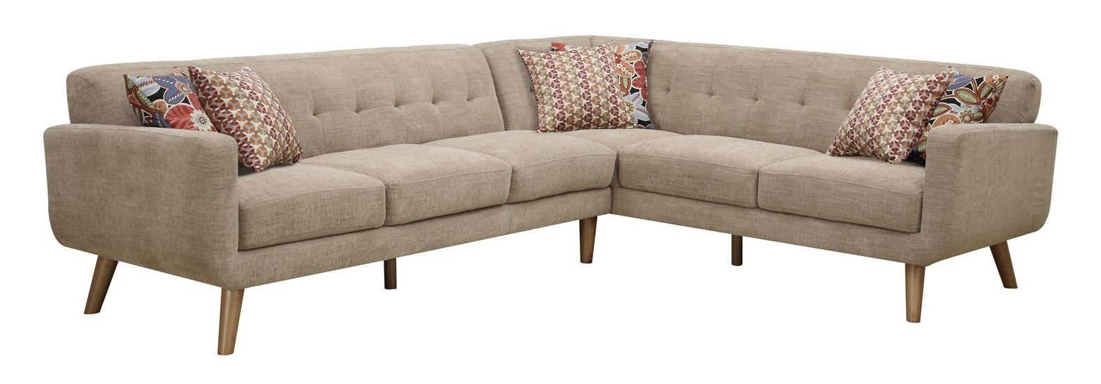 Kerri 2 Piece Sectional Wlaf Chaise Qty – Home Pictures Ideas For Malbry Point 3 Piece Sectionals With Laf Chaise (Photo 14 of 25)