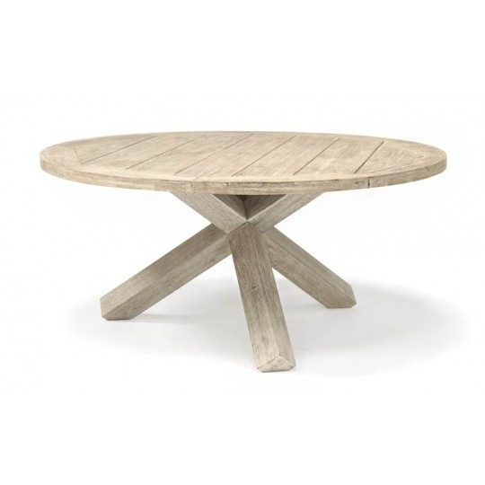 Kettler Cora 150Cm Round Dining Table 38Mm Top | Van Hage With Regard To Cora Dining Tables (Photo 12 of 25)
