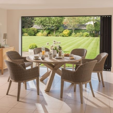 Kettler Cora Dining Set | Notcutts | Notcutts Pertaining To Cora Dining Tables (Photo 1 of 25)