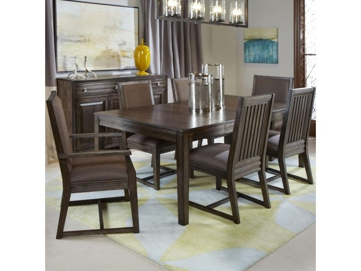 Kincaid Furniture Montreat7 Pc Formal Dining Set | Home Decor In Throughout Norwood 7 Piece Rectangular Extension Dining Sets With Bench, Host & Side Chairs (View 5 of 25)