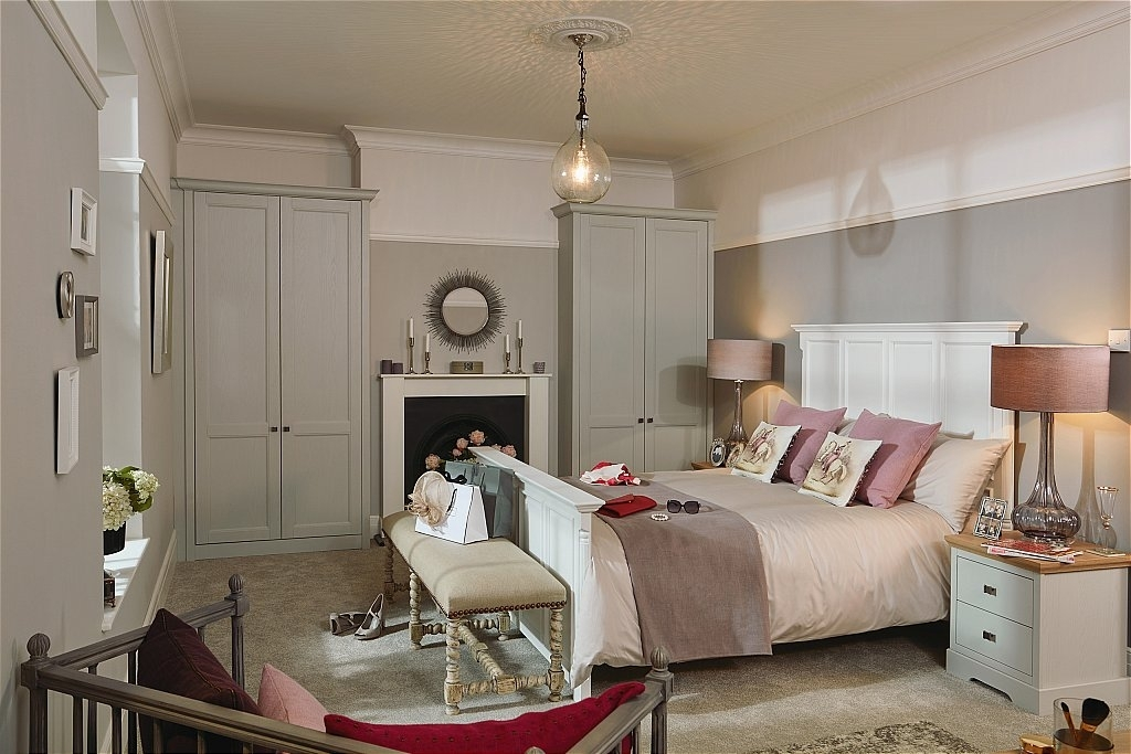 Kindred – Chapter Fitted Bedroom Furniture Range In Partridge Grey In Partridge 6 Piece Dining Sets (Image 16 of 25)