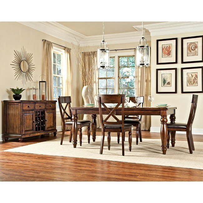 Kingston Dining Room Set Intercon Furniture, 2 Reviews | Furniture Cart pertaining to Kingston Dining Tables And Chairs