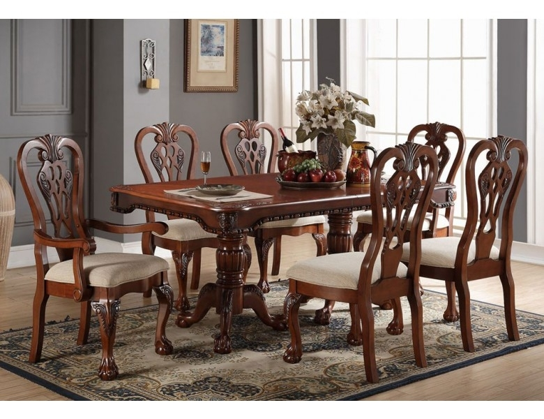 Kingston Formal Dining Table Set Within Kingston Dining Tables And Chairs (Photo 23 of 25)