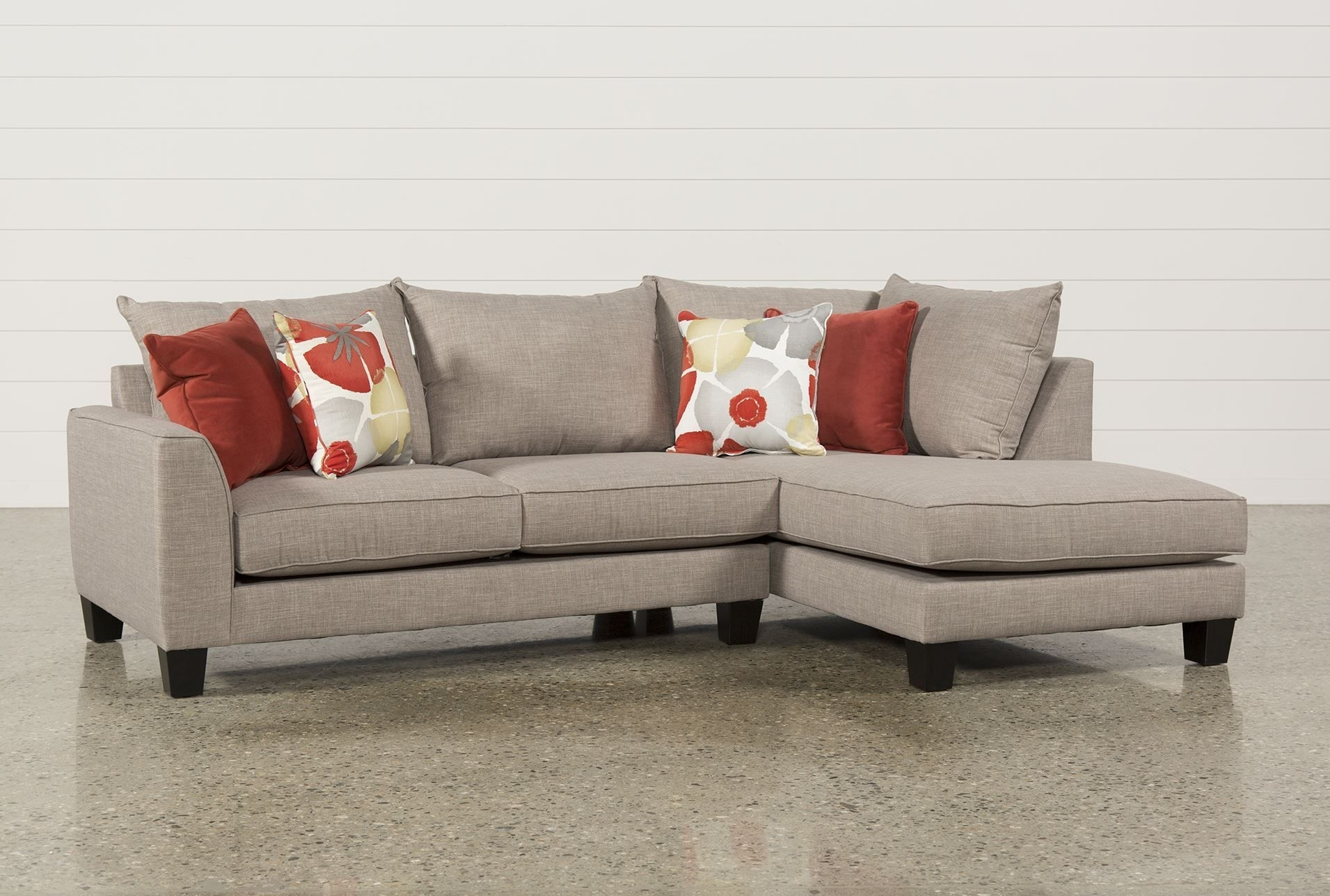 Kira 2 Piece Sectional W/raf Chaise | Home Nesting Interior Design Intended For Delano 2 Piece Sectionals With Raf Oversized Chaise (View 11 of 25)