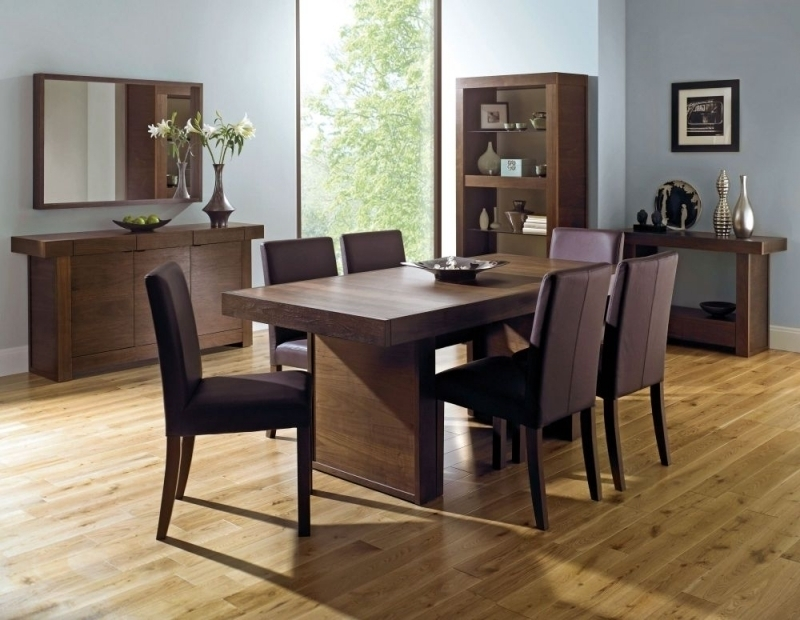 Kitchen: Amusing 6 Seat Kitchen Table 6 Seat Dining Table, 6 Seater Throughout Dark Wood Dining Tables And 6 Chairs (Photo 19 of 25)
