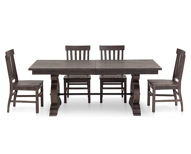 Kitchen & Dining Furniture | Furniture Row for Craftsman 9 Piece Extension Dining Sets