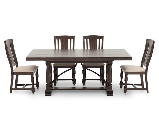 Kitchen & Dining Furniture | Furniture Row inside Craftsman 5 Piece Round Dining Sets With Side Chairs