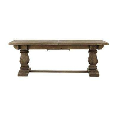 Kitchen & Dining Tables - Kitchen & Dining Room Furniture - The Home regarding Washed Old Oak & Waxed Black Legs Bar Tables