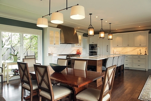 Kitchen Pendant Lighting Over Table Dining Room – Modern Home Design Intended For Lamp Over Dining Tables (Image 19 of 25)