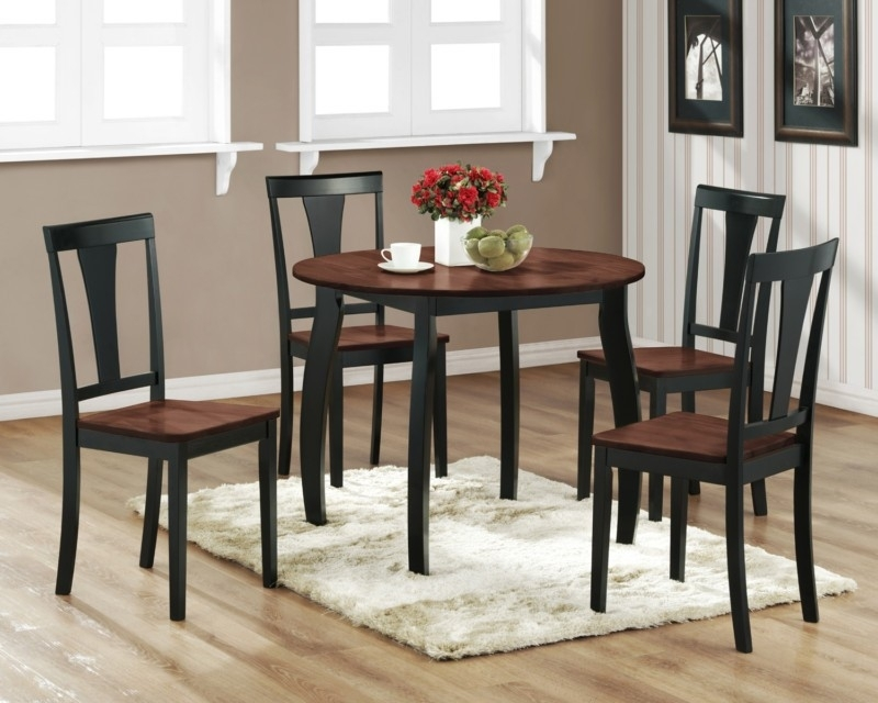 Kitchen Small Rectangular Kitchen Table Sets Kitchen Dining in Small Round Dining Table With 4 Chairs