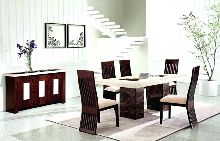 Kitchen Table 6 Chairs Set – Botscamp With Regard To 6 Chair Dining Table Sets (View 7 of 25)