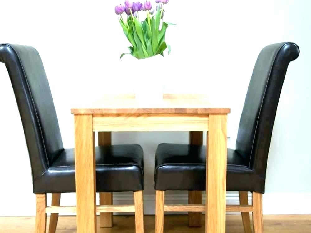 Kitchen Table For Two Two Person Kitchen Table 2 Person Dining Table Intended For Two Person Dining Tables (Photo 21 of 25)