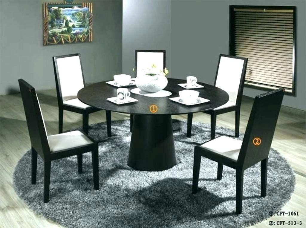 Kitchen Table Round 6 Chairs – Modern Computer Desk Cosmeticdentist Pertaining To Round 6 Person Dining Tables (Image 13 of 25)