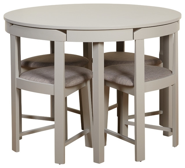 Kizzy Dining Set – Transitional – Dining Sets Tms With Compact Dining Sets (View 2 of 25)