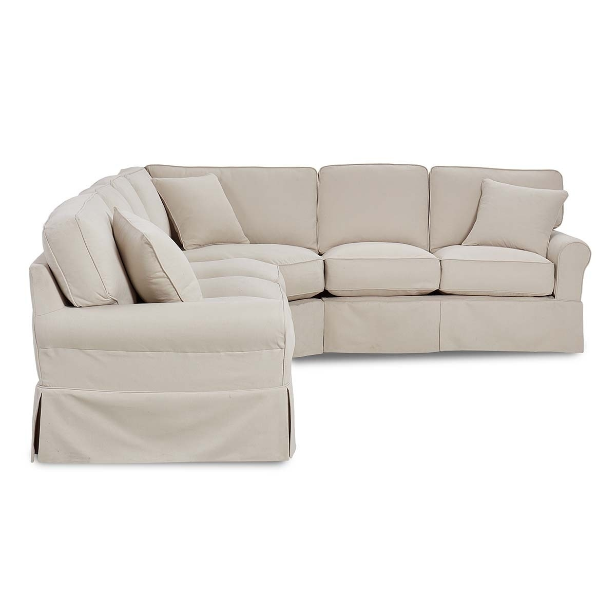 Knightsbridge Sectional Regarding Turdur 2 Piece Sectionals With Raf Loveseat (View 23 of 25)