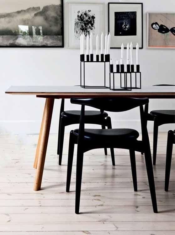 Kubus Kandelaarlassen En Eettafel Copenhague | Jadalnia Intended For Lassen Round Dining Tables (Image 13 of 25)