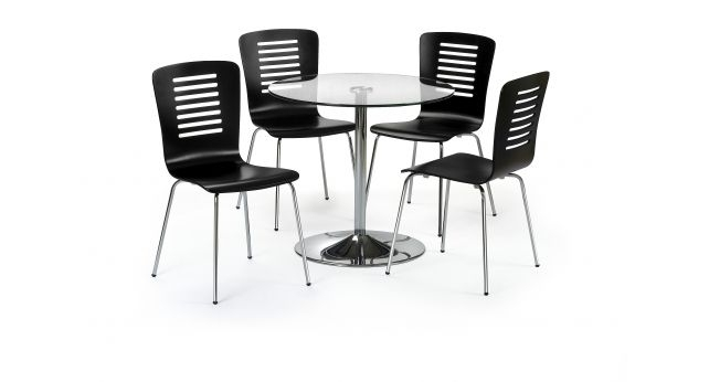 Kudos Dining Table & 4 Chairs, Available At Scs #dining #style inside Scs Dining Tables