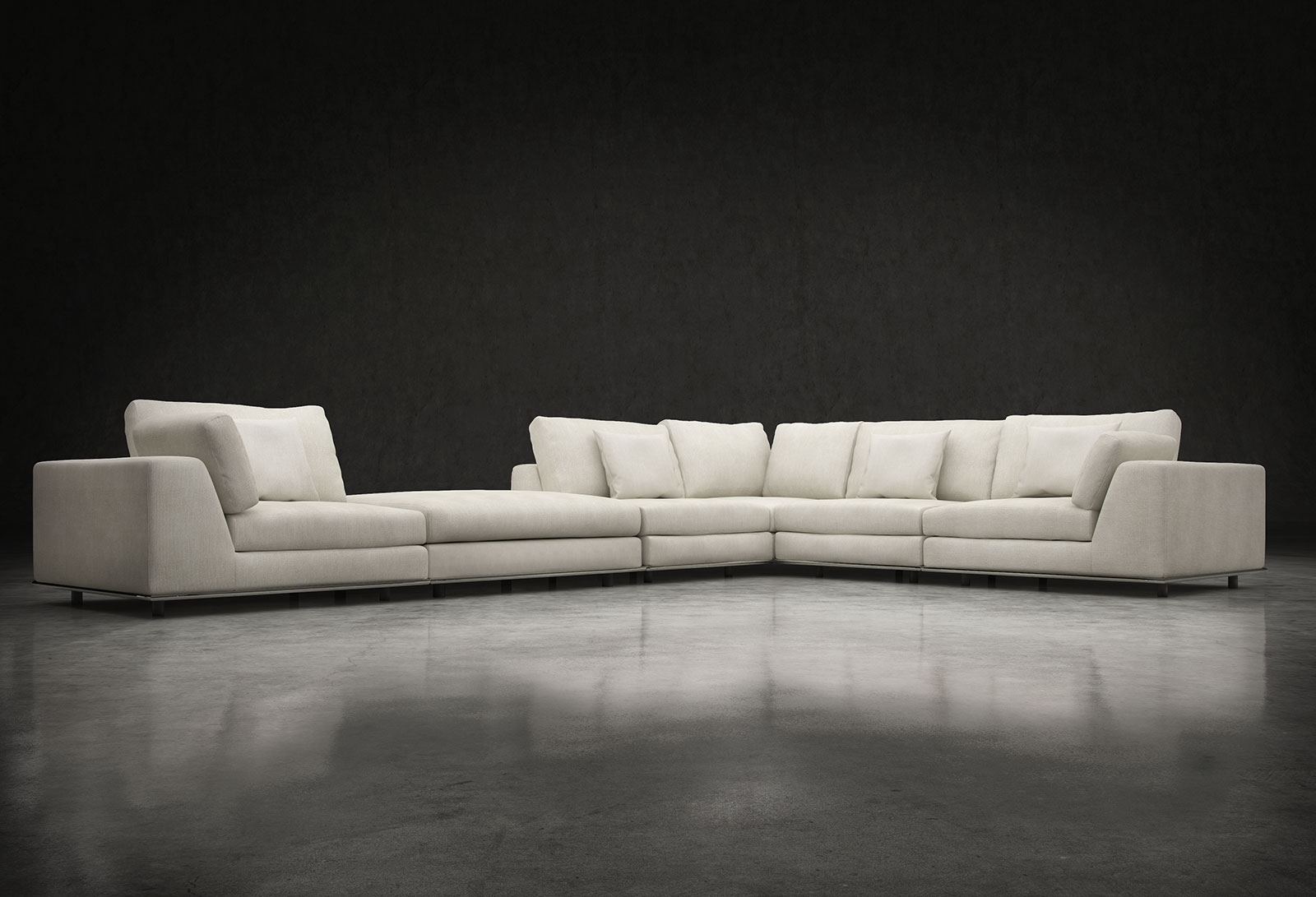 L Sectional Sofa – Dimarlinperez – With Regard To Malbry Point 3 Piece Sectionals With Laf Chaise (Image 18 of 25)