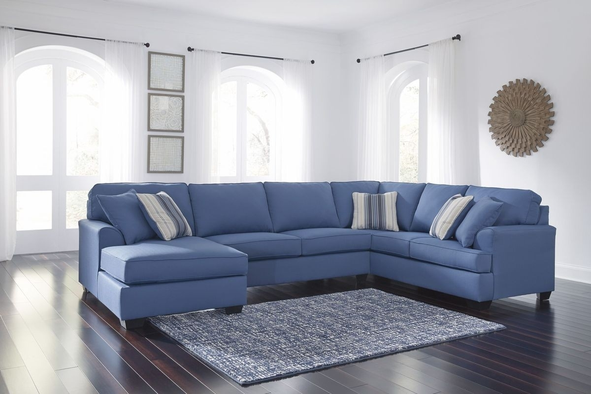 Laf Chaise Sectional Sofa | Baci Living Room With Sierra Down 3 Piece Sectionals With Laf Chaise (Image 15 of 25)