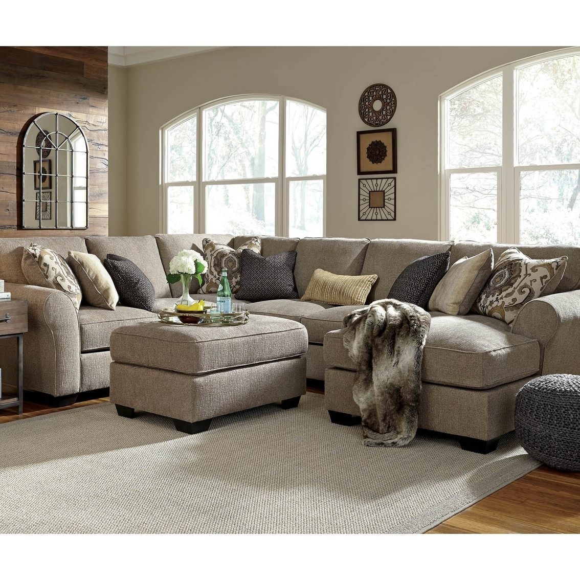 Laf Sofa Raf Loveseat | Baci Living Room Throughout Turdur 3 Piece Sectionals With Raf Loveseat (Image 12 of 25)