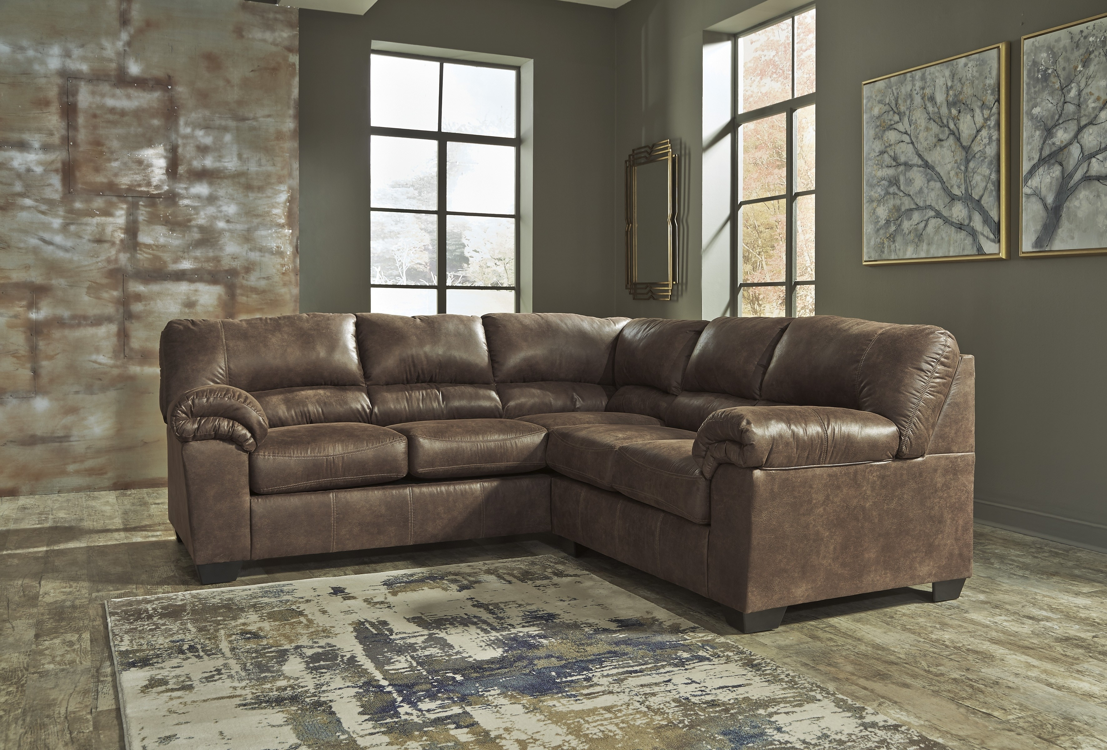 Laf Sofa Raf Loveseat | Baci Living Room With Regard To Turdur 2 Piece Sectionals With Raf Loveseat (Image 13 of 25)