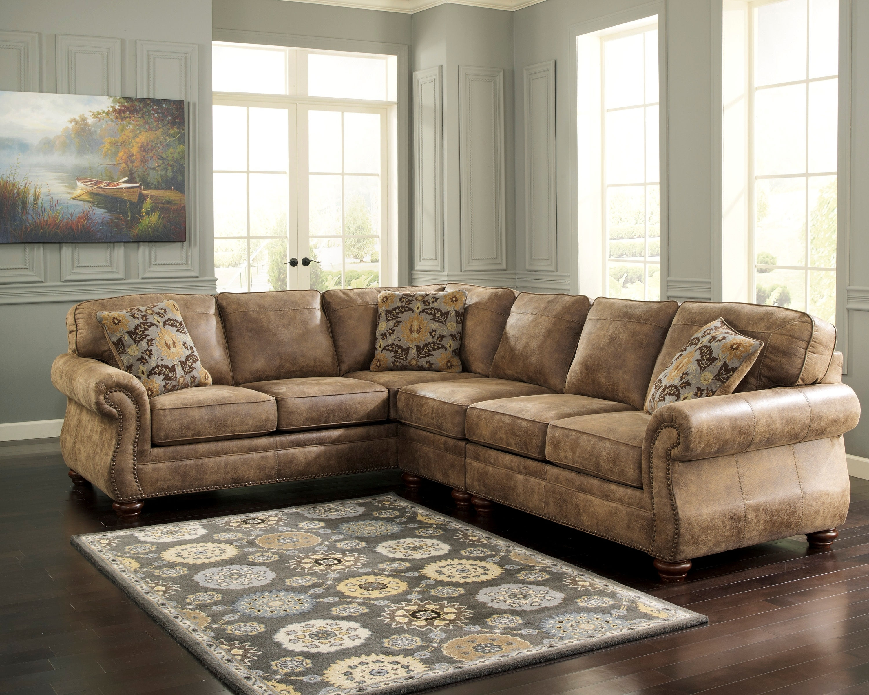 Laf Sofa Raf Loveseat | Baci Living Room With Turdur 3 Piece Sectionals With Raf Loveseat (View 9 of 25)