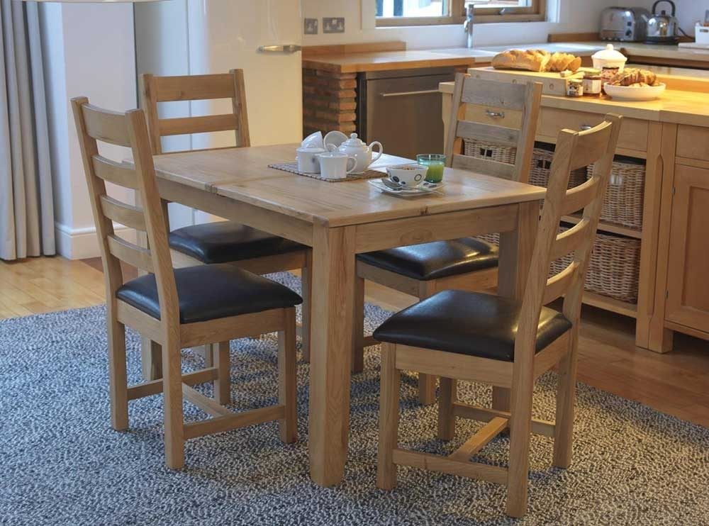 Lara Oak Dining & Occasional Furniture Within Cheap Oak Dining Sets (Image 9 of 25)