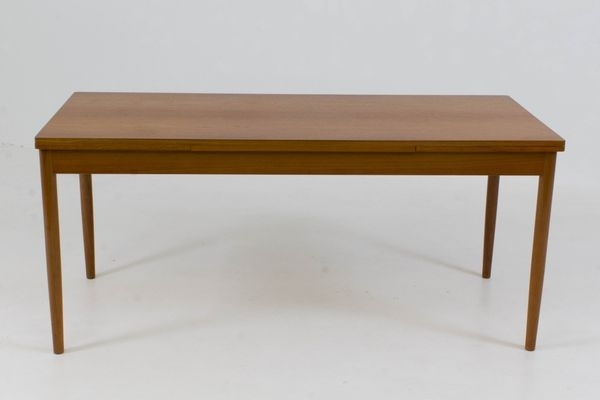 Large Danish Extending Dining Table, 1960S For Sale At Pamono With Regard To Extending Dining Tables (Image 17 of 25)