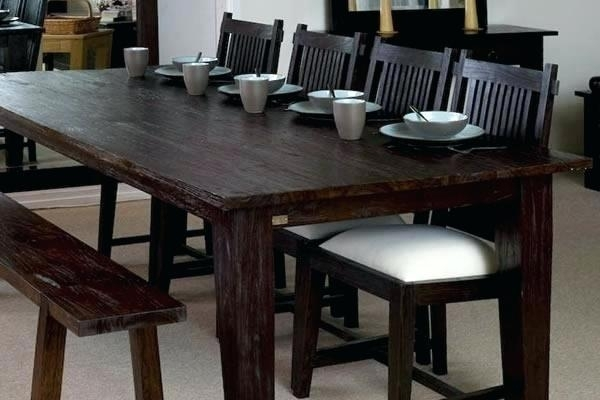 Large Dark Wood Dining Table 1990 | Bilgilimakaleler (Image 17 of 25)