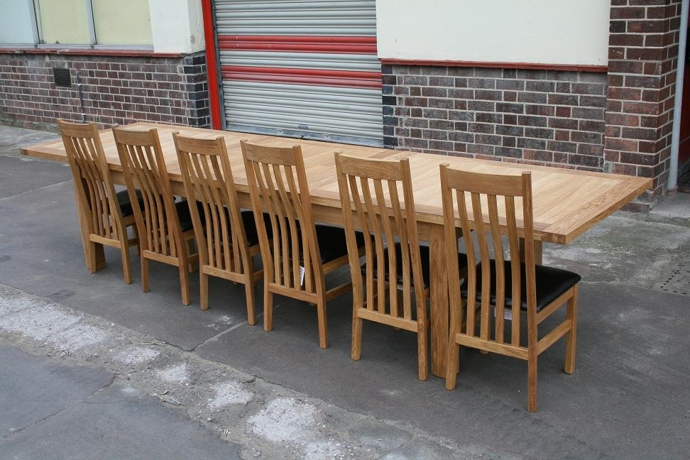 Featured Photo of Big Dining Tables For Sale