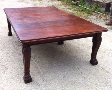 Large Early 19Th Century Regency Mahogany Extending Dining Table (C Regarding Mahogany Extending Dining Tables (View 21 of 25)