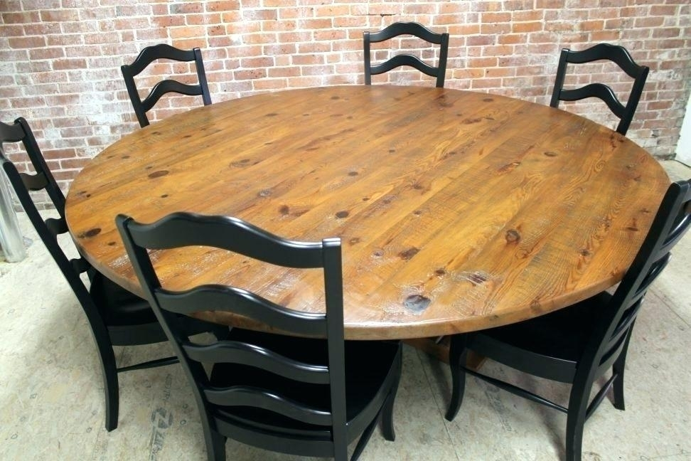 Large Extending Circular Dining Table Big Circle Extra Tables And With Regard To Large Circular Dining Tables (Image 16 of 25)