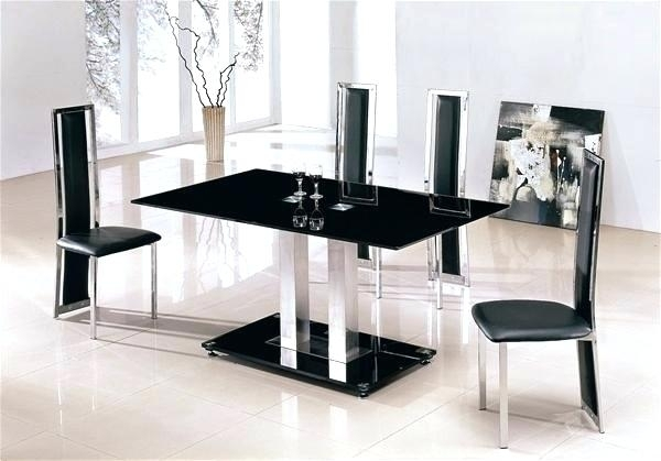 Large Glass Dining Table Set Prev Seats 8 And 6 Chairs T Pertaining To Glass Dining Tables And 6 Chairs (Image 19 of 25)