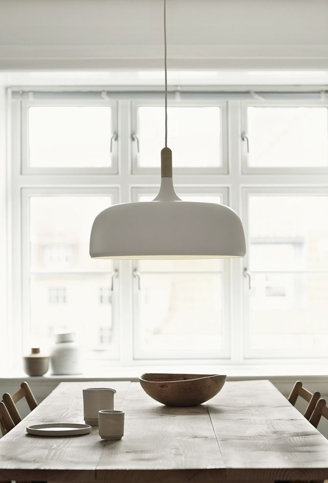 Large Oversized Pendant Light Above The Dining Table | Acorn Inside Dining Tables Ceiling Lights (Image 15 of 25)