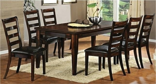 Large Round Dark Wood Dining Table Extra Wi Home Decor Splendid Within Dark Wooden Dining Tables (Image 20 of 25)