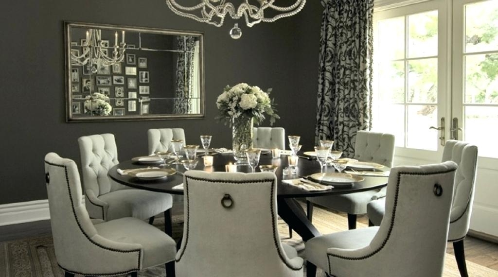 Large Round Dining Table Great Surprising Seats 8 On Rustic With Regard To Huge Round Dining Tables (Image 16 of 25)